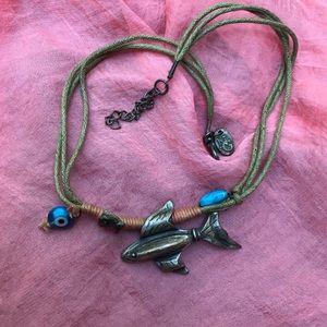 Boho necklace piece